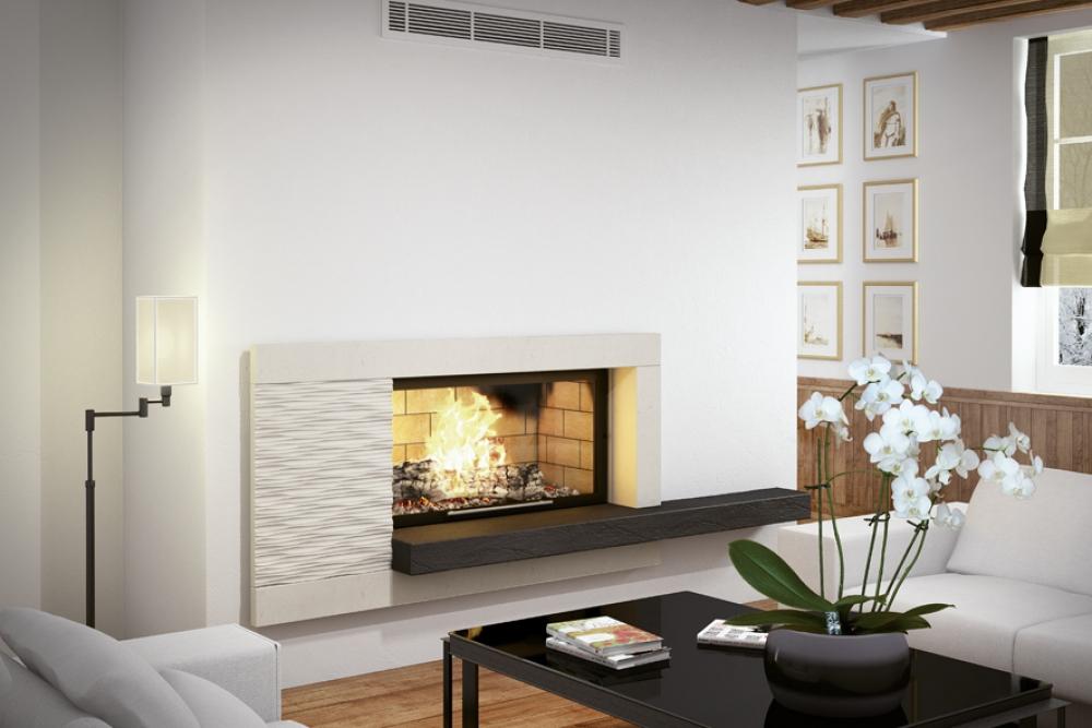 chemin e moderne coulmeau. Black Bedroom Furniture Sets. Home Design Ideas